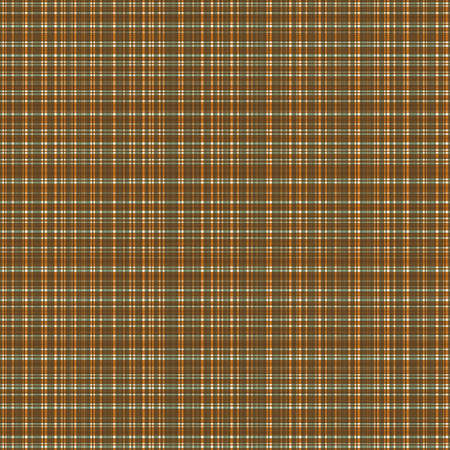 Plaid linen weave seamless vector pattern background. Densely woven style ochre sage texture backdrop. Gingham flannel repeat design. Geometric all over cloth print for fabric, fashion, wellness.
