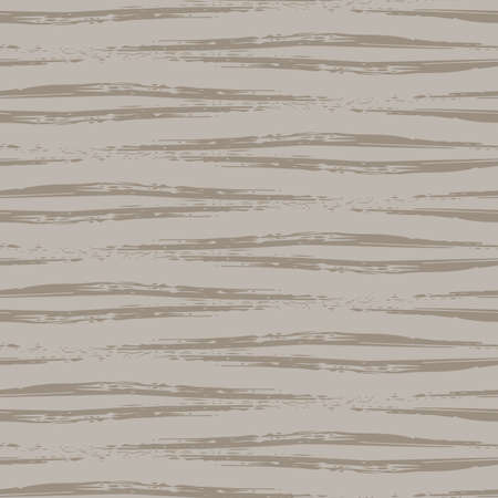 Vector wicker weave effect seamless interlace pattern background. Wide painterly ribbon plait lattice monochrome sandstone color backdrop. Faux rattan basket woven texture. Repeat for packaging