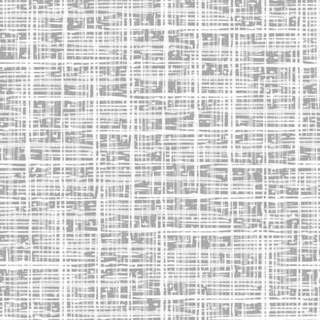 Burlap weave seamless vector pattern background. Densely woven style canvas monochrome light gray backdrop. Linen cloth weave repeat design. Versatile ,odern cotton fibre texture all over print