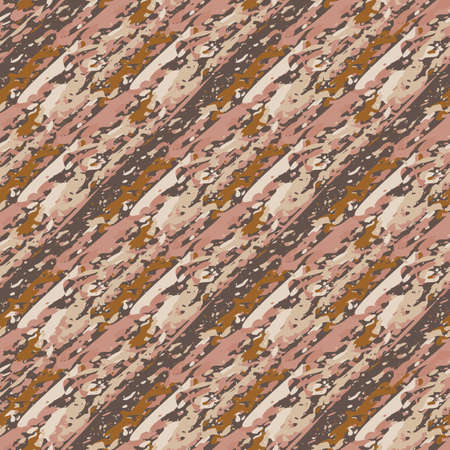 Upholstery fabric burlap vector seamless pattern background. Midcentury modern faux cotton texture backdrop. Boucle brown, ochre cream white repeat. Chic textured woven all over print for packaging.