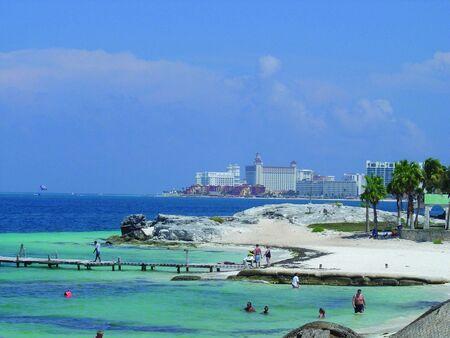 bathers: Cancun spiaggia