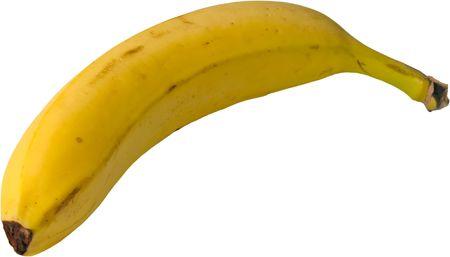 isolated banana