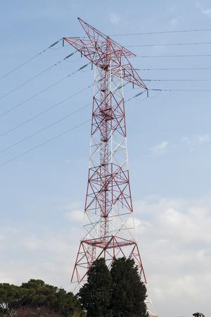 great plains: Utility Pole Stock Photo