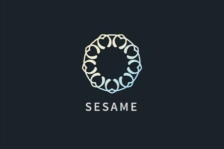 Logo Ornament Company with Stylish Flourish