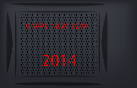 Happy New Year 2014 Techno
