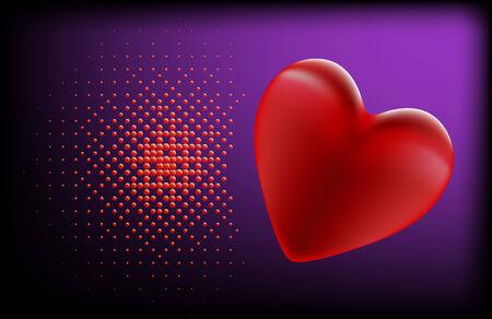 violett: The Heart