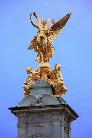 thomas stone: London - Victoria memorial Editorial