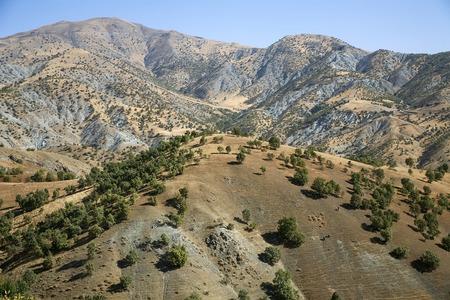 Kurdistan landscape Stock Photo