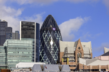awarded: The Gherkin building in London was awarded a Royal Institute of British Architects Stirling Prize in 2004. Editorial