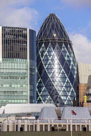 gherkin: The Gherkin building in London was awarded a Royal Institute of British Architects Stirling Prize in 2004. Editorial