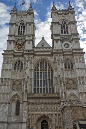 coronation: Westminster Abbey The Collegiate Church of St Peter at Westminster  Gothic church in City of Westminster London. Westminster is traditional place of coronation and burial site for English monarchs