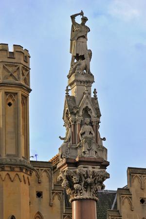 confessor: Westminster Scholars Memorial Stock Photo