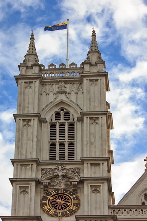 the abbey: Western facade, Westminster Abbey, London