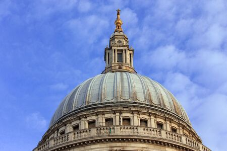 st pauls cathedral: St. Pauls cathedral - dome Editorial