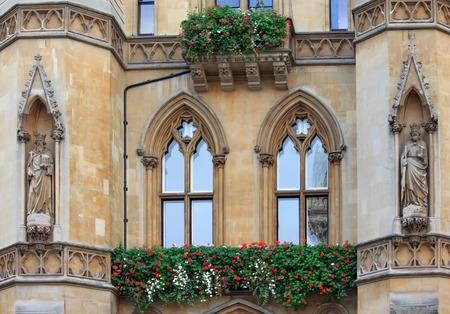 dean: Westminster school - Dean S Yard balcony