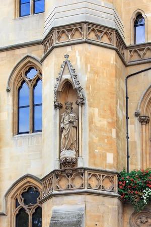 dean: Westminster school - Dean S Yard - statue