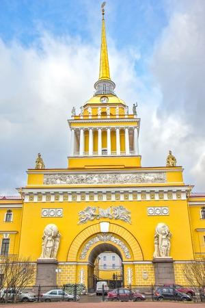 saint petersburg: Admiralty building in Saint Petersburg