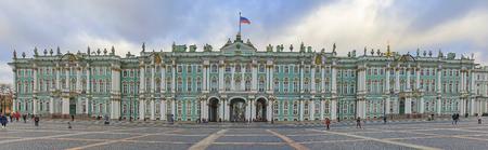 Hermitage, panorama, Saint Petersburg, Russia