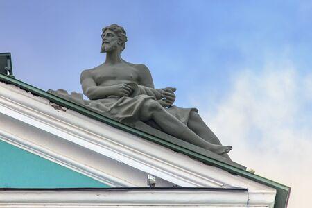 and saint: Hermitage, Saint Petersburg, Russia - detail