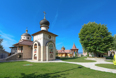 serbia: Monastery of the Holy Virgin - Lesje, Serbia