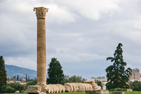 olympian: Olympian Zeus columns in Athens, Greece