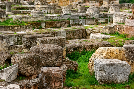 archeological: Kerameikos - archeological site in Greece Stock Photo