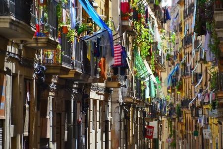 quarter: Street in arabian quarter, Barcelona