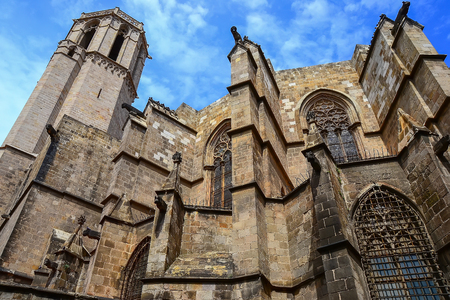 quarter: Gothic quarter in Barcelona