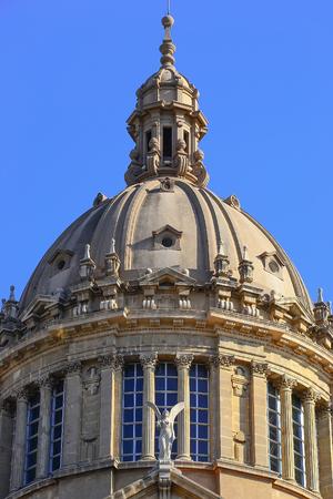 montjuic: Barcelona Montjuic - dome