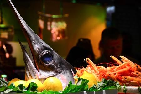 pez espada: Pez espada Foto de archivo