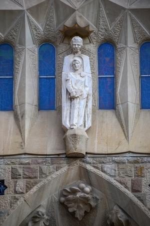 sagrada familia: Sagrada Familia - detail, Barcelona