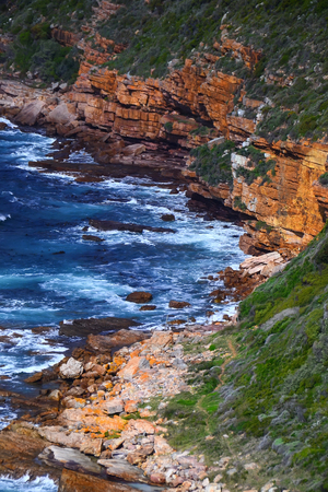 cape of good hope: View of Cape of Good Hope South Africa Stock Photo