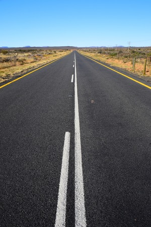 south africa soil: Road in South Africa