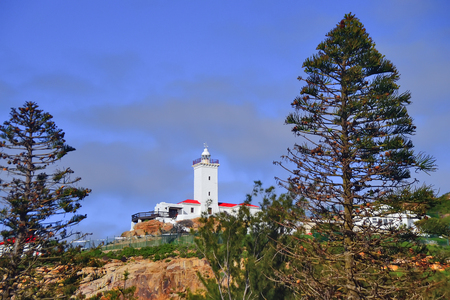 noord: Lightouse at Mosel bay, South Africa Stock Photo