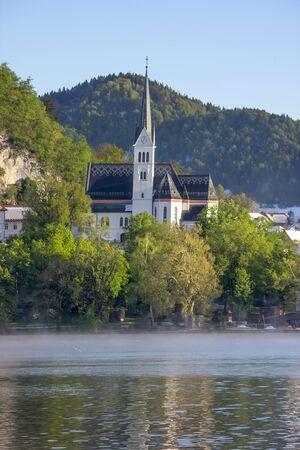 bled: Bled, Slovenia - small church