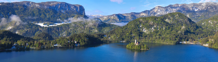 bled: Bled, Slovenia - panorama