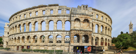 amphitheatre: Pula, Croatia - Roman amphitheatre