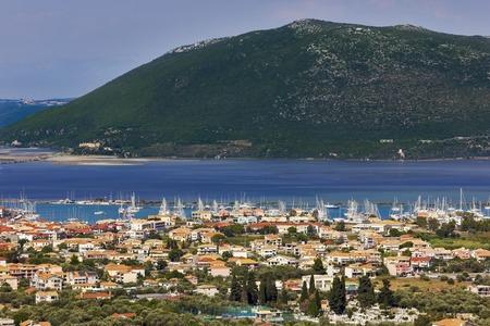 Lefkas town, Lefkada island, Greece