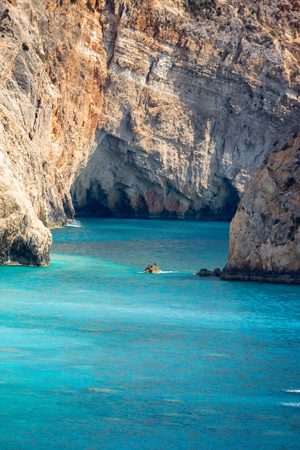 ionian: Porto Katsiki beach in Lefkada, Greece