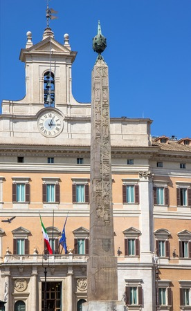 Obelisk of Montecitorio, Rome, Italy