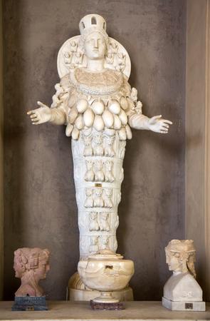 Artemis of Ephesus statue (the Lady of Ephesus) in Vatican