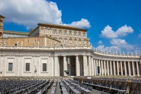 Basilica of St. Peter church in Vatican City, Rome.