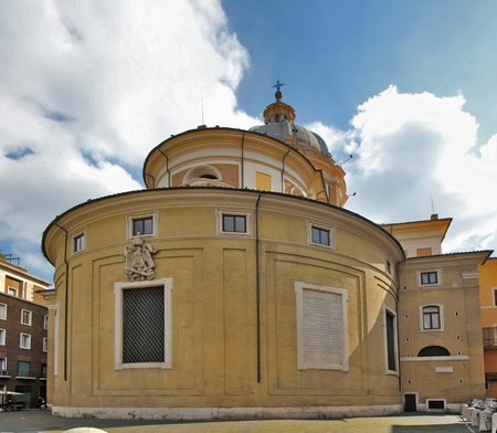 Basilica of Saints Ambrose and Charles the Corso, Rome