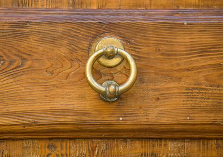 Door knocker - Rome, Italy Stock Photo