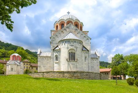 Serbian Orthodox monastery Studenica Stock Photo - 118589375