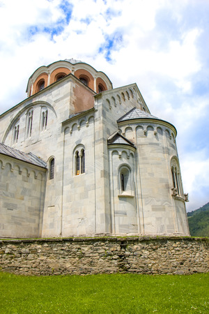 Serbian Orthodox monastery Studenica 写真素材
