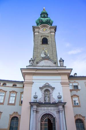 The church of Peter at Salzburg, Austria