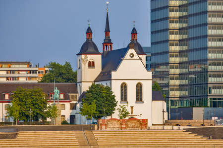 Saint Heribert church in Cologne, Germany