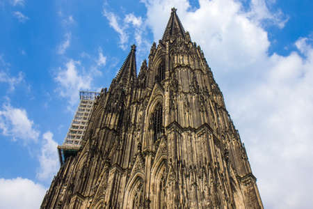 Cathedral Church of Saint Peter in Cologne, Germany Editoriali