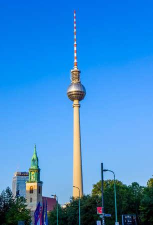Berlin tower - TV tower in Berlin